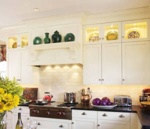 Ways To Work Glass Into Your Kitchen Cabinets