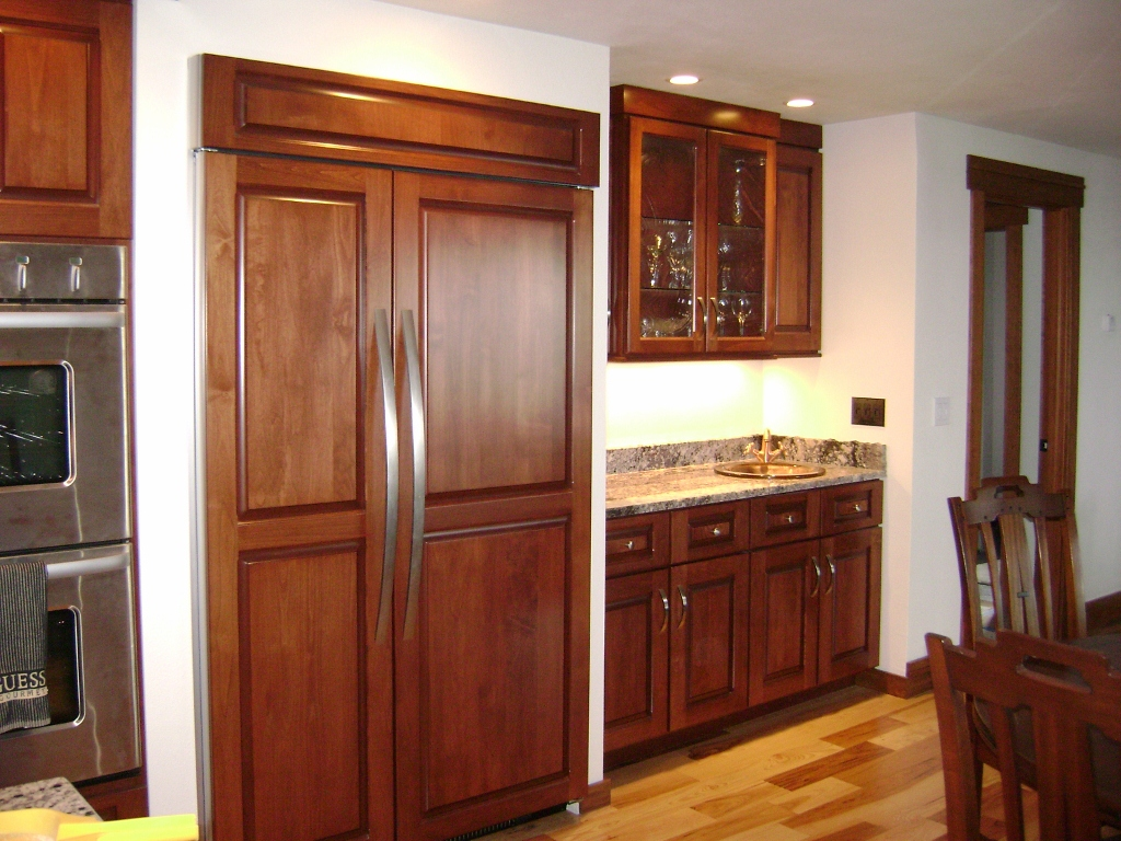 Gawker article on smaller fridges for Custom built kitchen cabinets