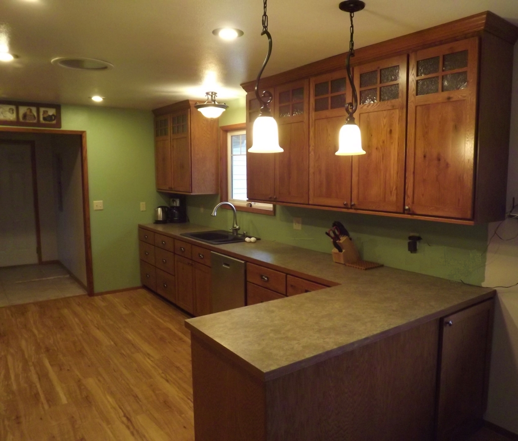 Craftsman style kitchen - Craftsman kitchen design ...